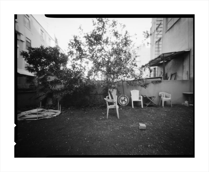 O jardim da casa da Marta, 112x135cm